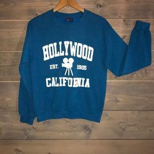 Vintage Hollywood souvenir sweatshirt